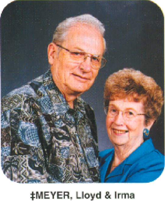 irma snyder meyer and lloyd meyer luckey historical society. Black Bedroom Furniture Sets. Home Design Ideas