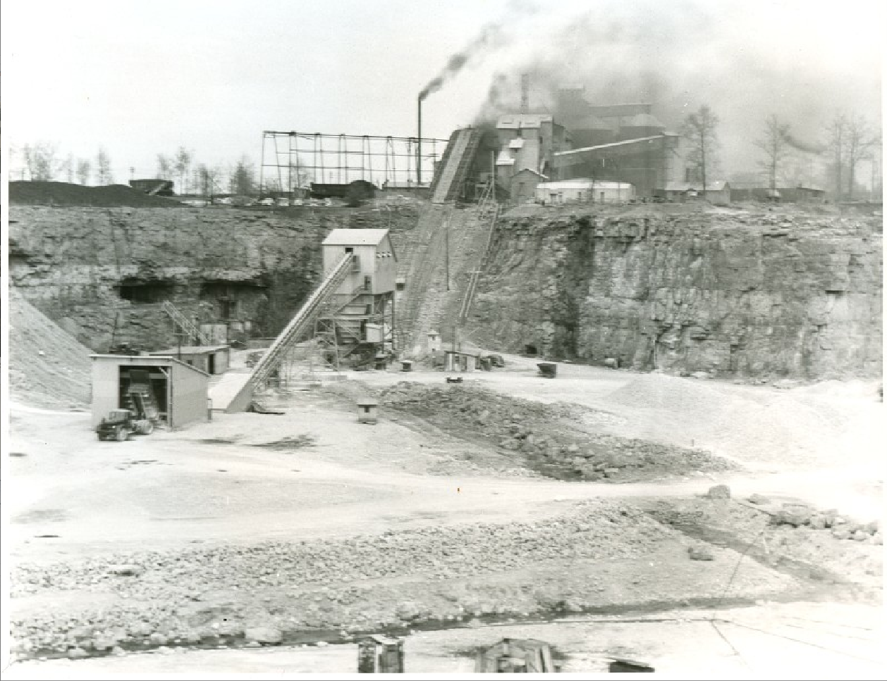 Luckey Quarry, May 4, 1951 by Fred Chambers
