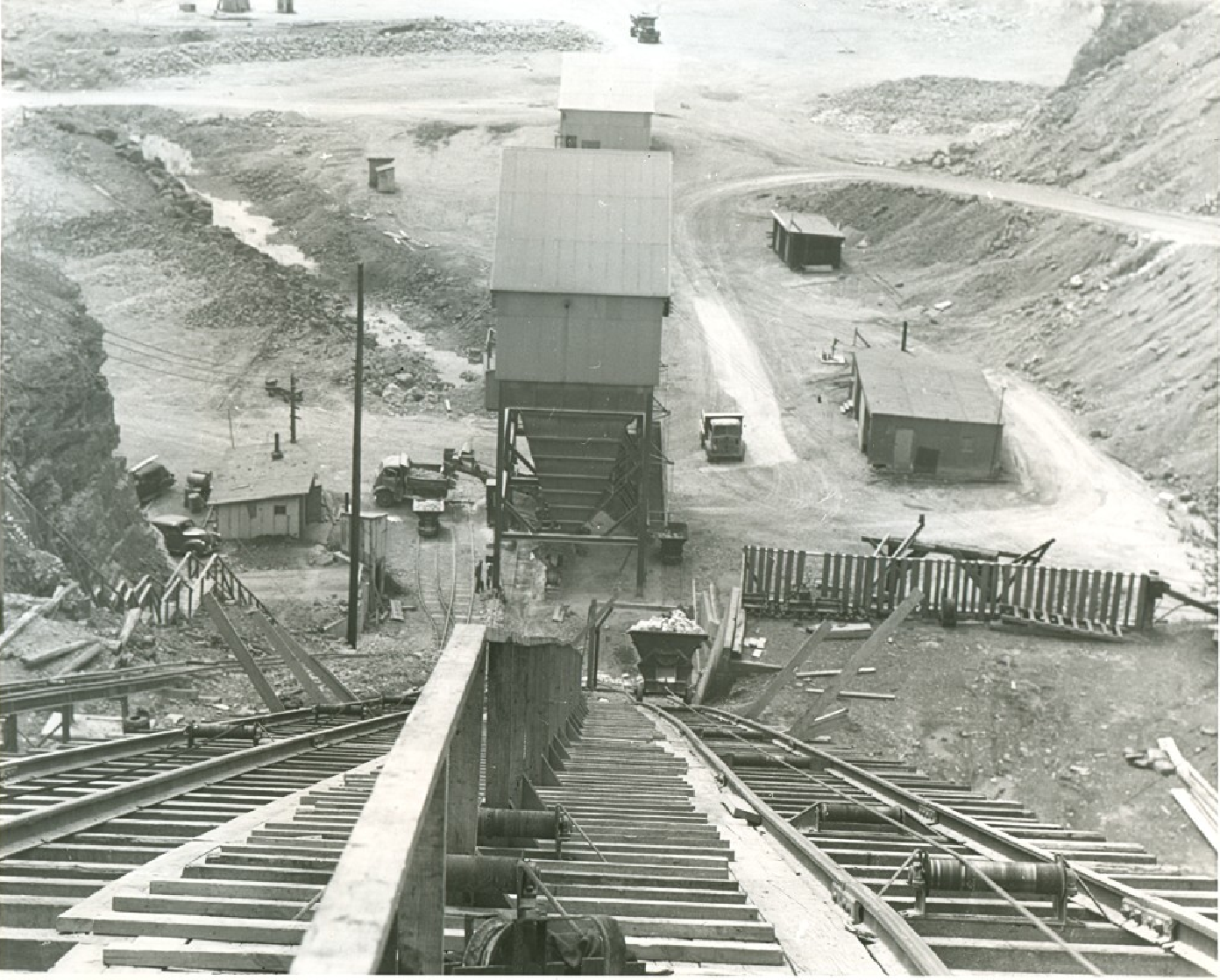 Luckey Quarry, owned by France Stone Co., May 4, 1951, Fred Chambers