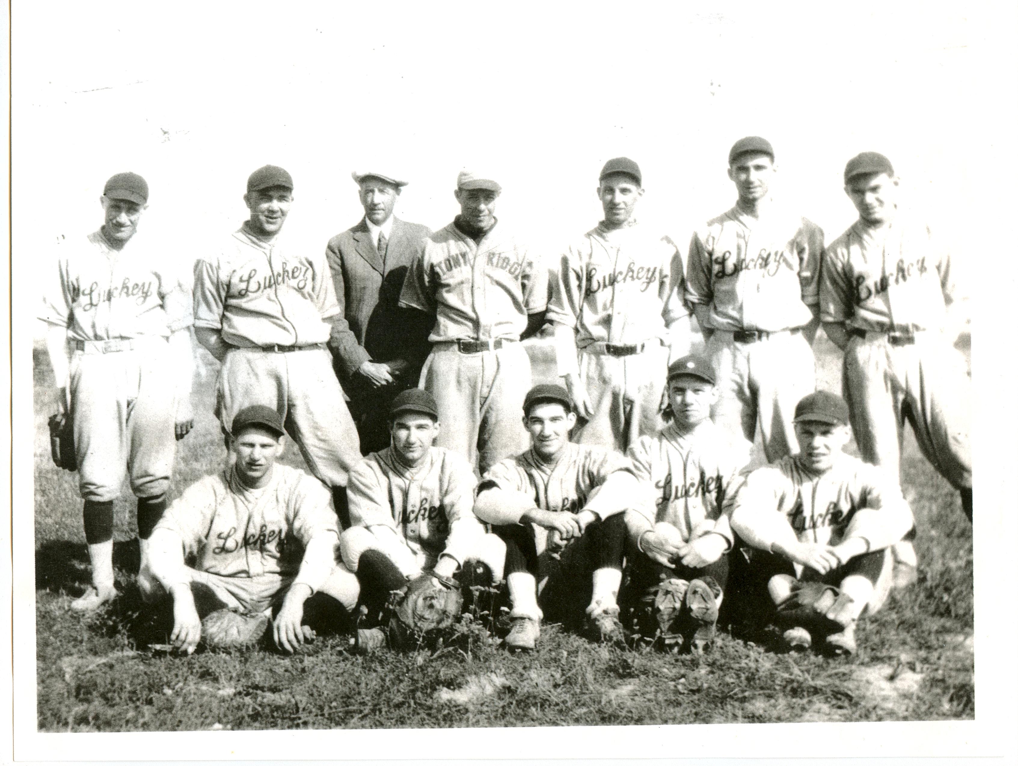 Luckey baseball team