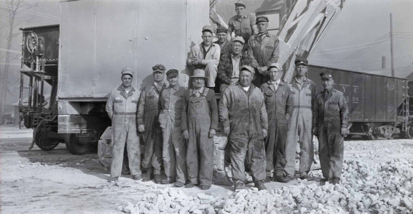 Quarry workers