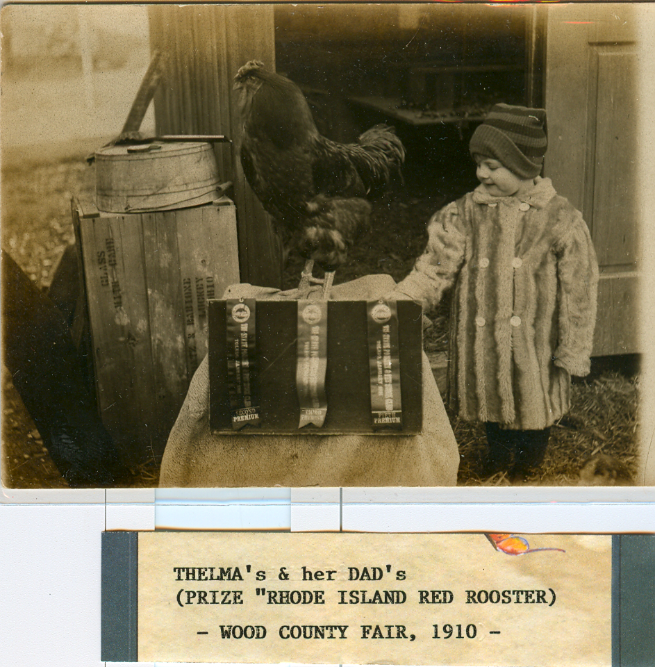 Thelma & Rooster 1910