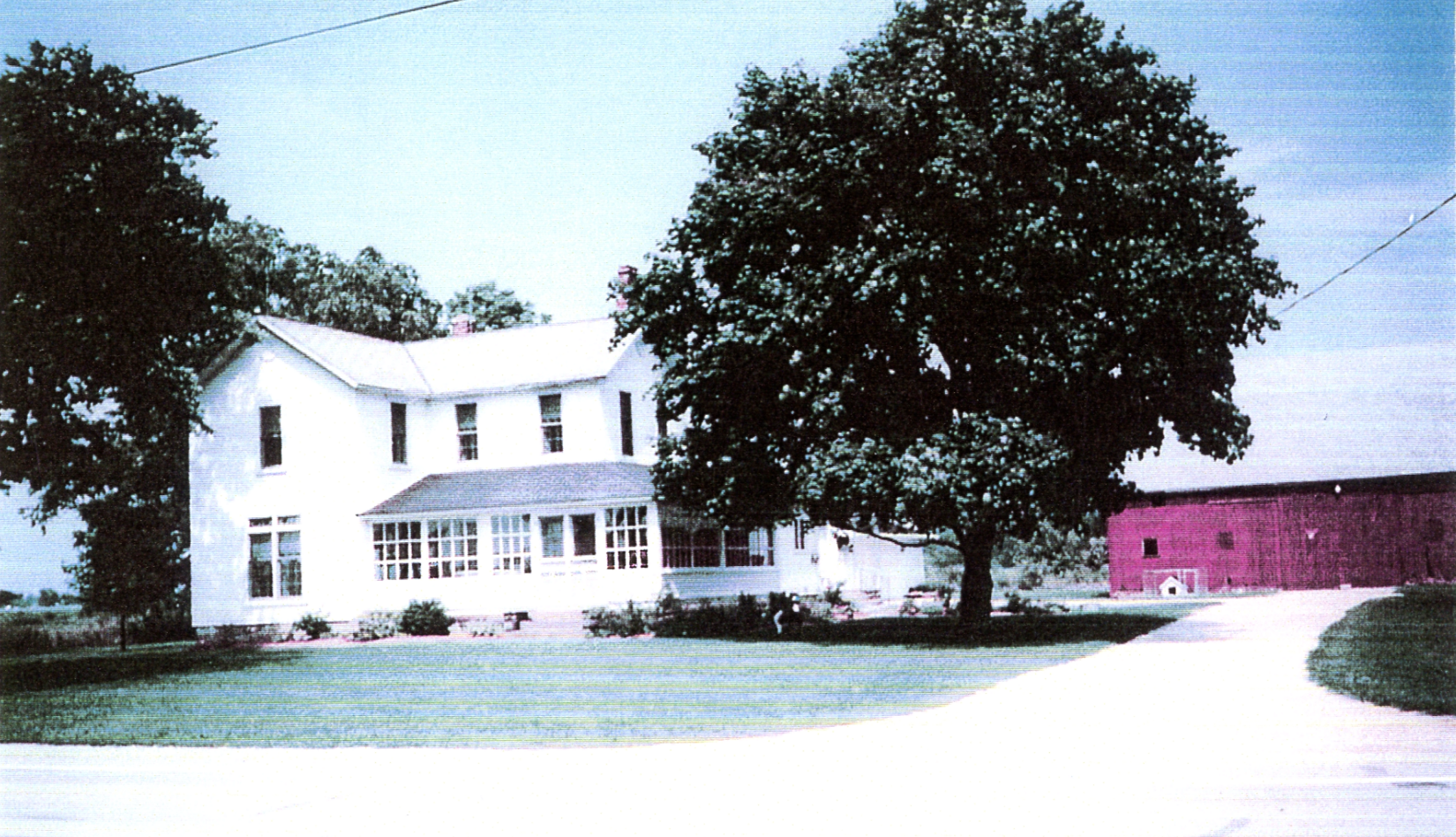 Wight home in the 1970's