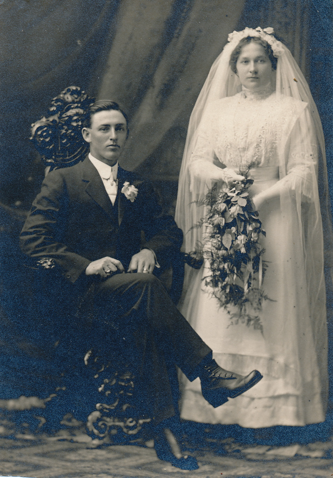 John & Adelia Blecke