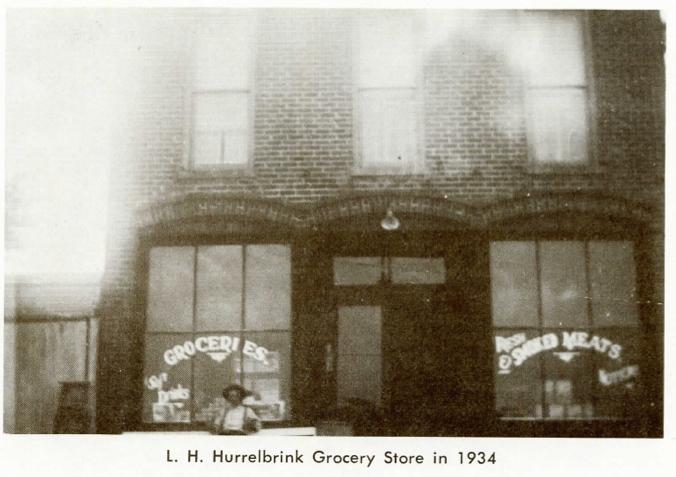 L. H. Hurrelbrink Grocery Store 1934, Stony Ridge, Ohio