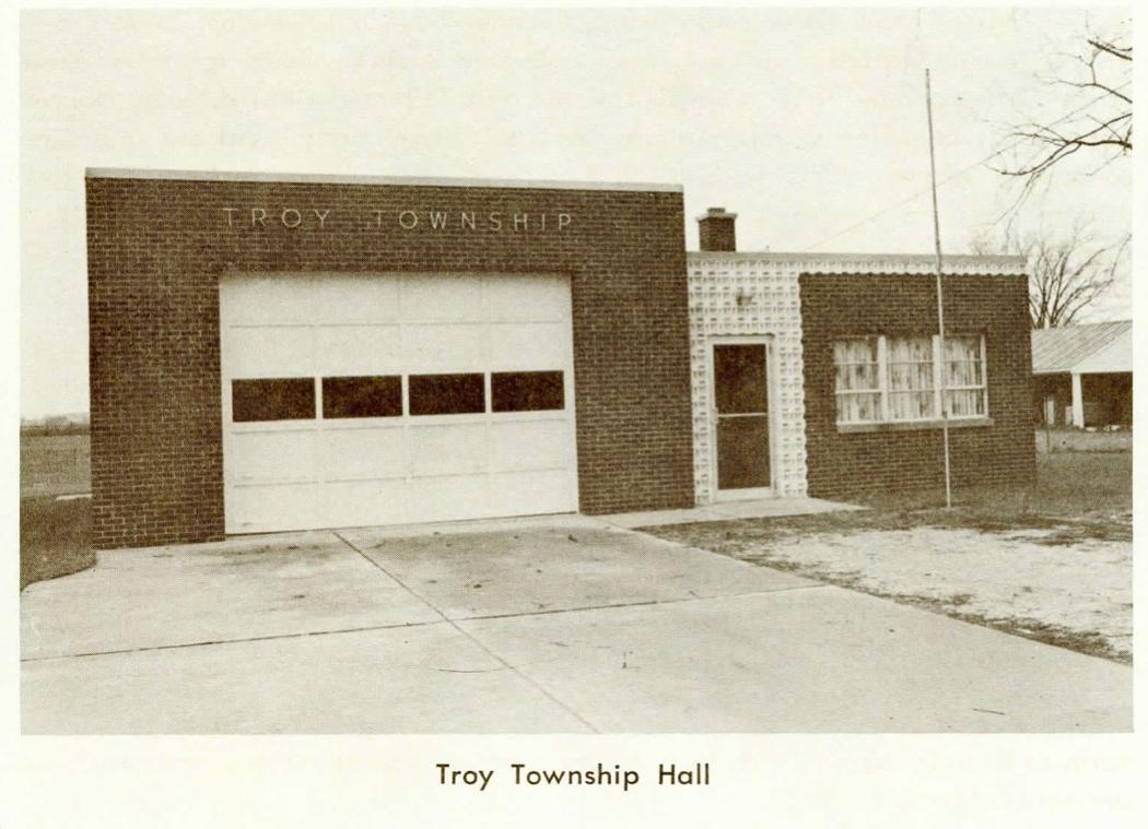 Troy Township Hall, Stony Ridge, OH